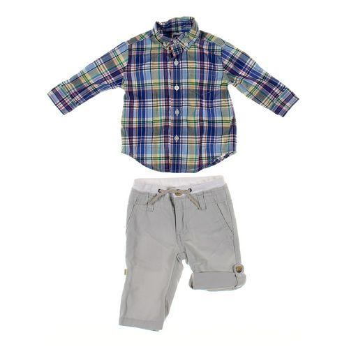 Janie and Jack Pants & Shirt Set in size 3 mo at up to 95% Off - Swap.com