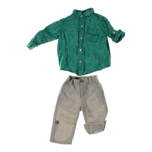 Janie and Jack Pants & Shirt Set in size 6 mo at up to 95% Off - Swap.com