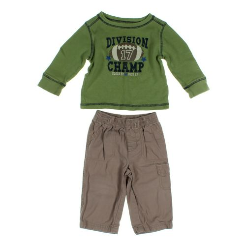 Jumping Beans Pants & Shirt Set in size 12 mo at up to 95% Off - Swap.com