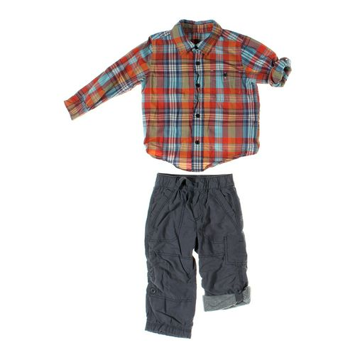 Old Navy Pants & Shirt Set in size 18 mo at up to 95% Off - Swap.com