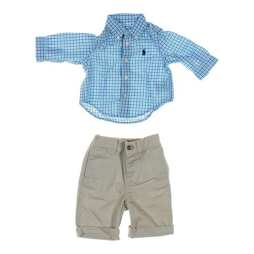 Ralph Lauren Pants & Shirt Set in size 3 mo at up to 95% Off - Swap.com