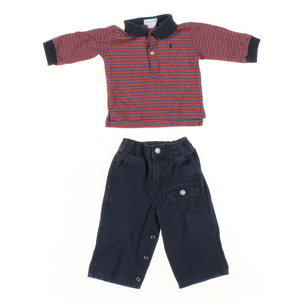 a4576fcc1 Ralph Lauren Pants & Shirt Set in size 6 mo at up to 95% Off