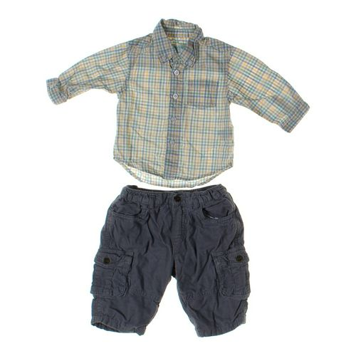 The Children's Place Pants & Shirt Set in size 3 mo at up to 95% Off - Swap.com