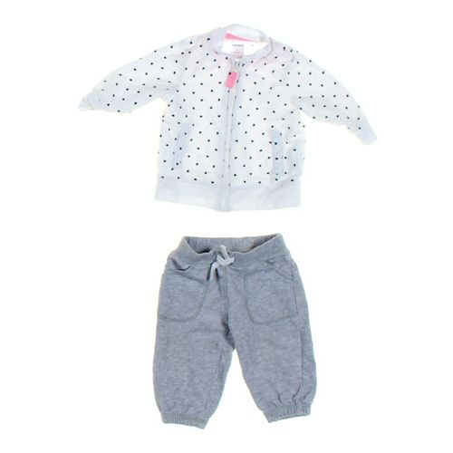 Carter's Pants & Sweatshirt Set in size 3 mo at up to 95% Off - Swap.com