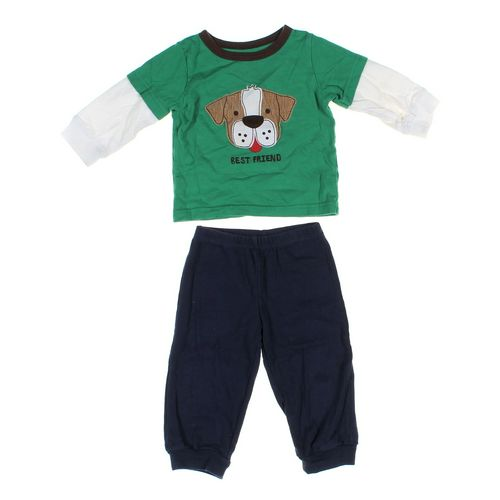 Carter's Pants & T-shirt Set in size 12 mo at up to 95% Off - Swap.com