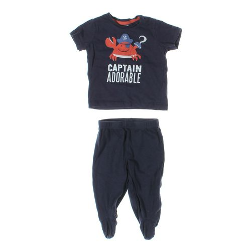 Carter's Pants & T-shirt Set in size 6 mo at up to 95% Off - Swap.com