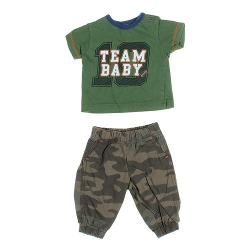 Carter's Pants & T-shirt Set in size 3 mo at up to 95% Off - Swap.com
