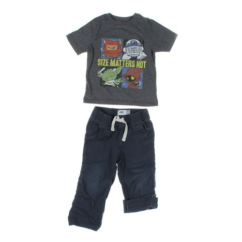 Old Navy Pants & T-shirt Set in size 2/2T at up to 95% Off - Swap.com