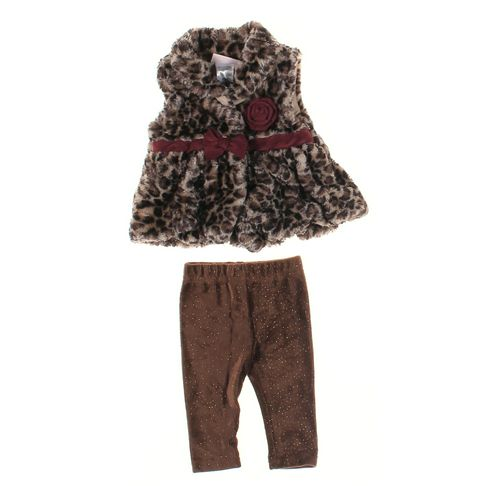 Little Lass Pants & Vest Set in size 3 mo at up to 95% Off - Swap.com