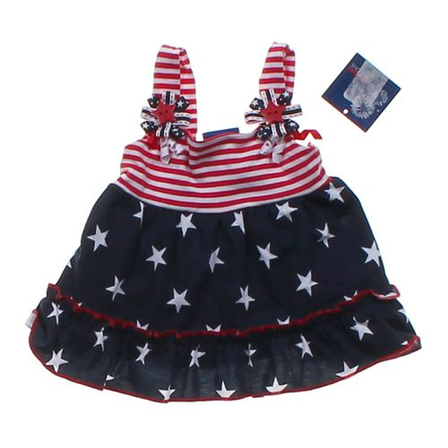 Holiday Editions Patriotic Dress in size 3 mo at up to 95% Off - Swap.com