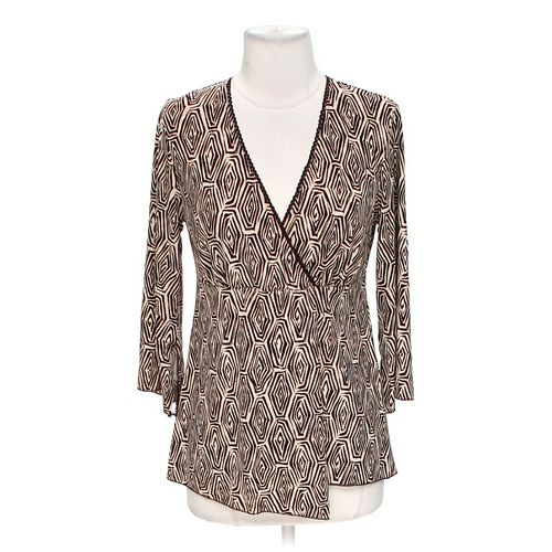 BIYAYCDA Patterned Blouse in size M at up to 95% Off - Swap.com