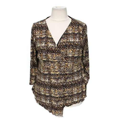 Cato Patterned Blouse in size 18 at up to 95% Off - Swap.com