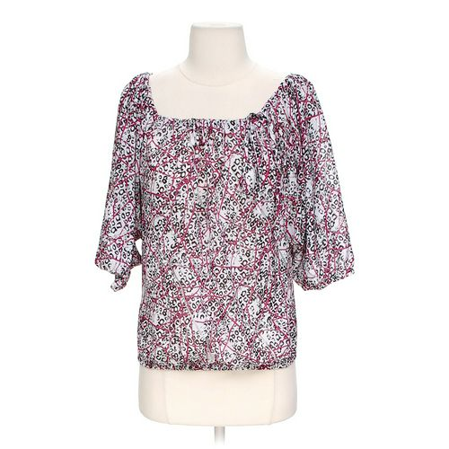 Chaps Patterned Blouse in size S at up to 95% Off - Swap.com
