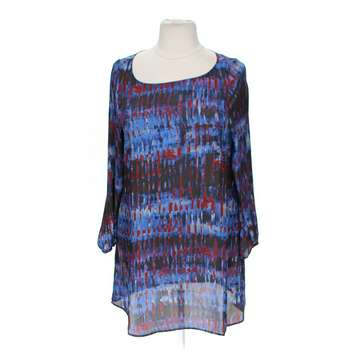 03508e9201c1 Charming Charlie Abstract Dress, Size XL