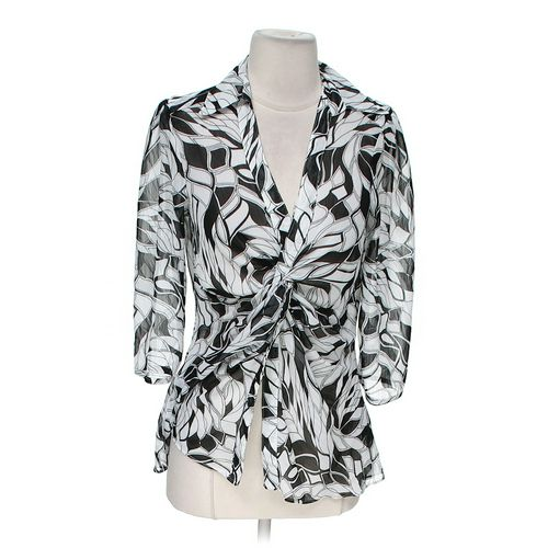Essentials Patterned Blouse in size M at up to 95% Off - Swap.com