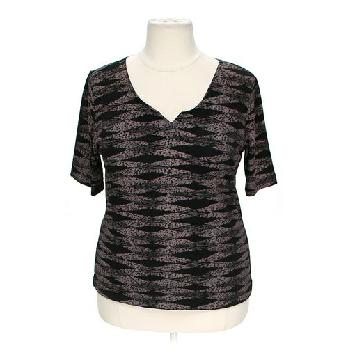 Theo Patterned Blouse in size 2X at up to 95% Off - Swap.com