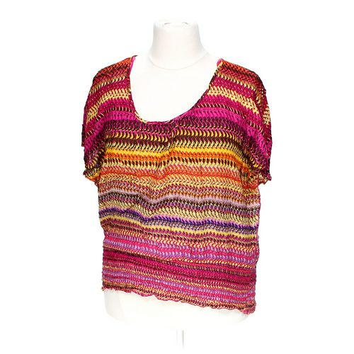 Unique Spectrum Patterned Blouse in size 2X at up to 95% Off - Swap.com