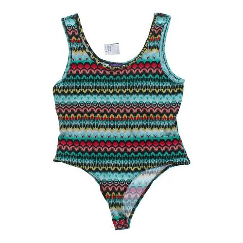 Hot Gal Patterned Bodysuit in size XL at up to 95% Off - Swap.com