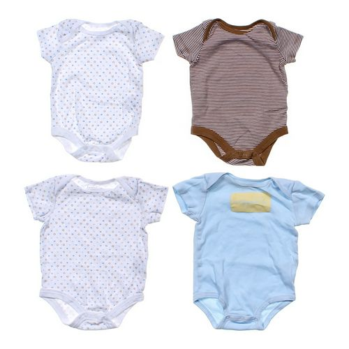 Faded Glory Patterned Bodysuit Set in size 3 mo at up to 95% Off - Swap.com