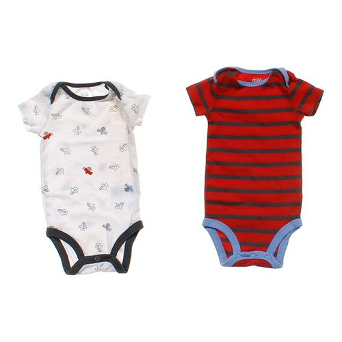 Child of Mine Patterned Bodysuit Set in size 3 mo at up to 95% Off - Swap.com