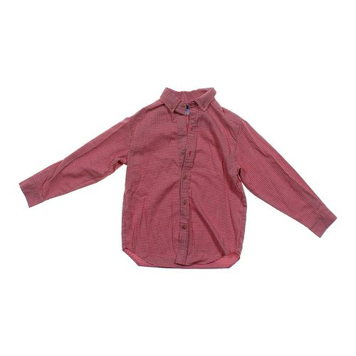 Kelly's Kids Patterned Button-up Shirt in size JR 7 at up to 95% Off - Swap.com