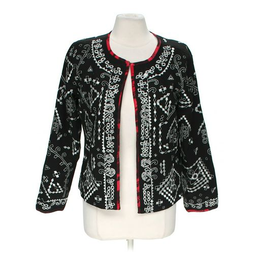 Notations Patterned Cardigan in size M at up to 95% Off - Swap.com