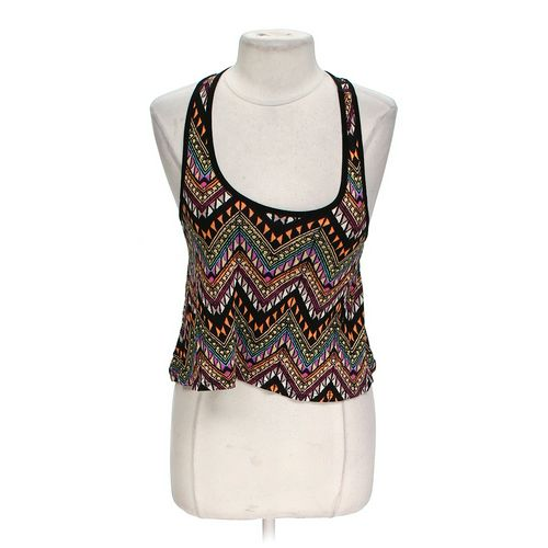 Body Central Patterned Cropped Tank in size L at up to 95% Off - Swap.com