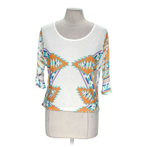Body Central Patterned Cropped Top in size M at up to 95% Off - Swap.com