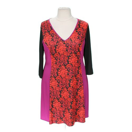 Jete Patterned Dress in size 3X at up to 95% Off - Swap.com