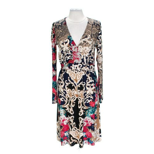 Melissa Masse Patterned Dress in size 1X at up to 95% Off - Swap.com