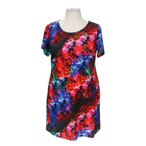 Triste Patterned Dress in size 1X at up to 95% Off - Swap.com