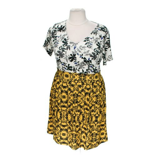 Triste Patterned Dress in size 3X at up to 95% Off - Swap.com