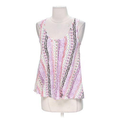 Energie Patterned Knit Accented Tank Top in size XS at up to 95% Off - Swap.com