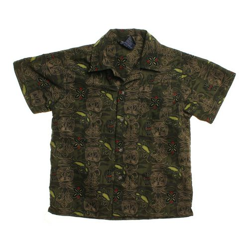 Timber Clothing Patterned Polo Shirt in size 5/5T at up to 95% Off - Swap.com