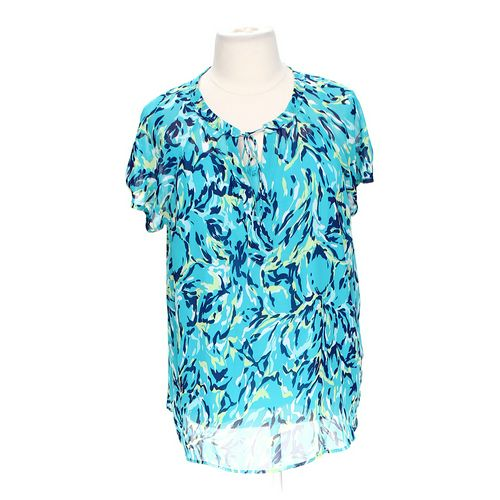 Liz Claiborne Patterned Sheer Blouse in size 2X at up to 95% Off - Swap.com