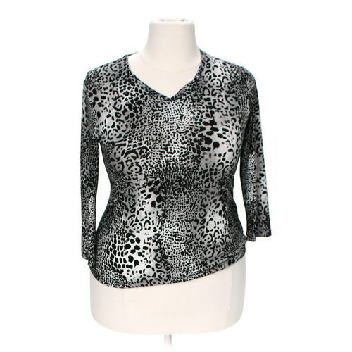 Easy Wear Patterned Shirt in size 1X at up to 95% Off - Swap.com