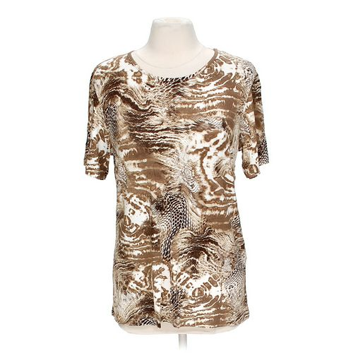 Paola Davoli Patterned Shirt in size M at up to 95% Off - Swap.com