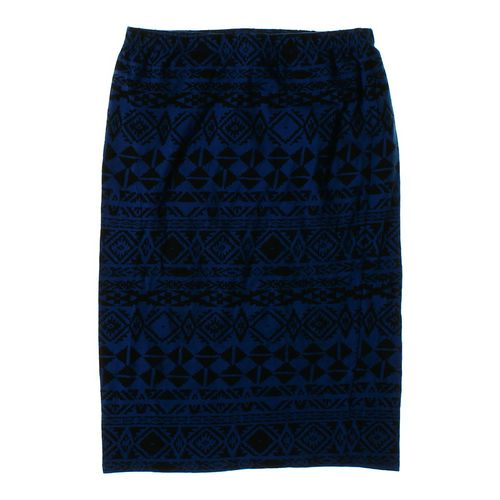 Polly& Esther Patterned Skirt in size JR 15 at up to 95% Off - Swap.com