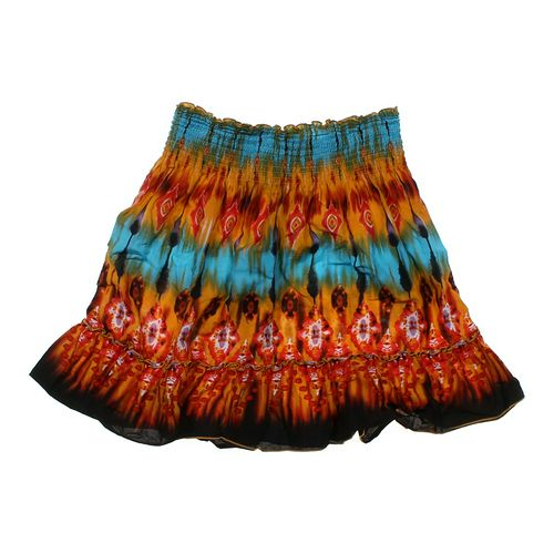 Tracy Evans Patterned Skirt in size JR 11 at up to 95% Off - Swap.com