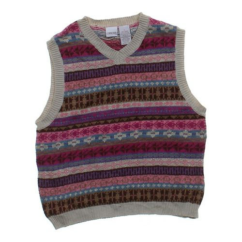 Cherokee Patterned Sweater Vest in size 12 at up to 95% Off - Swap.com