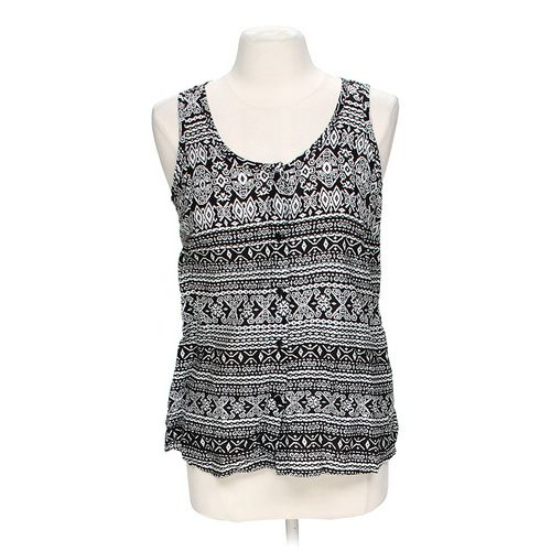 Faded Glory Patterned Tank t in size M at up to 95% Off - Swap.com