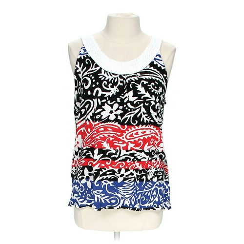 Joseph A. Patterned Tank in size L at up to 95% Off - Swap.com
