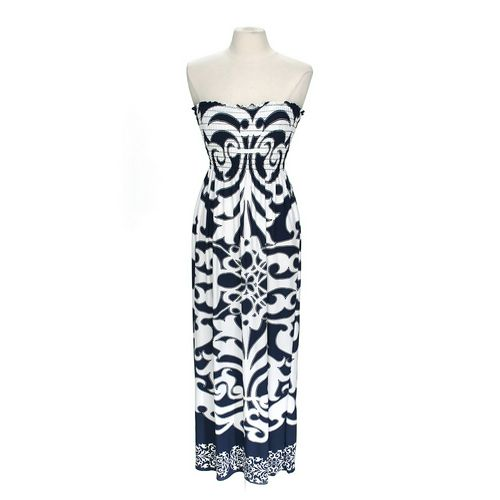 Azules Patterned Tube Dress in size M at up to 95% Off - Swap.com