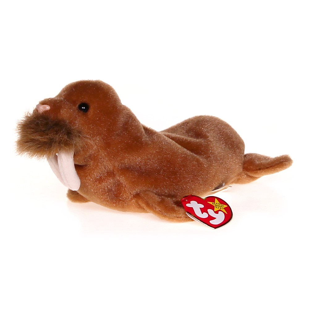 Ty PAUL the Walrus ty beanie baby-retired at up to 95% Off - 1fd84e9fdfc