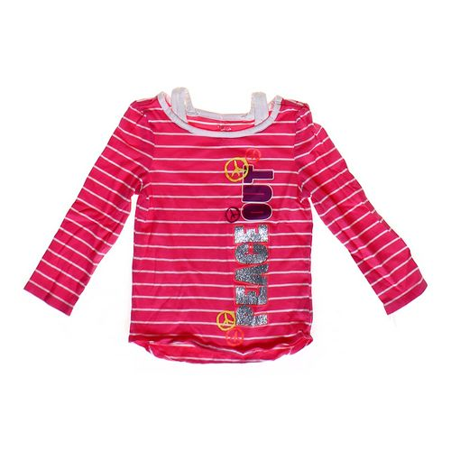 """The Children's Place """"Peace Out"""" Shirt in size 4/4T at up to 95% Off - Swap.com"""