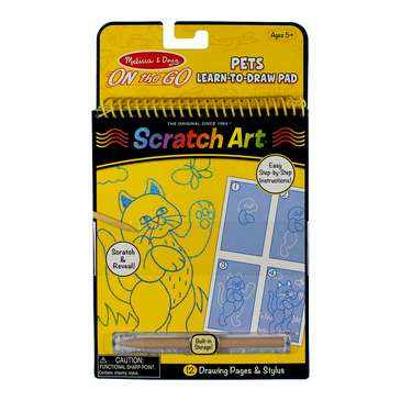 Pets Learn to Draw Scratch Board for Sale on Swap.com