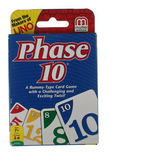 Mattel Phase 10 at up to 95% Off - Swap.com