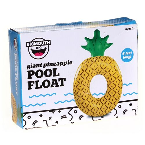Bigmouth, INC Pineapple Pool Float at up to 95% Off - Swap.com