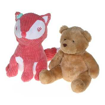Pink Fox & Teddy Bear Set for Sale on Swap.com