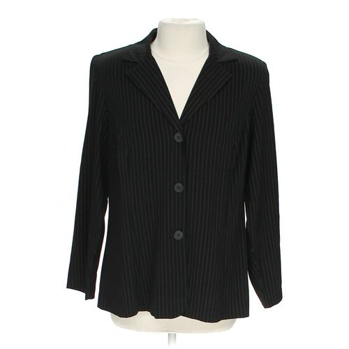 Jessica London Pinstriped Blazer in size 14 at up to 95% Off - Swap.com
